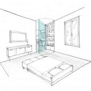 Croquis chambre 2
