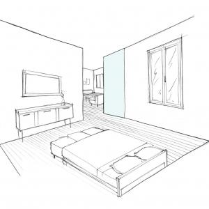 Croquis chambre 3