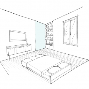 Croquis chambre 4