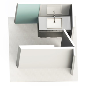 Configuration 1 - Entrée de piece