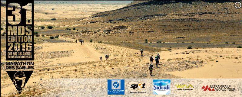Elezio, sponsor pour le Marathon des sables