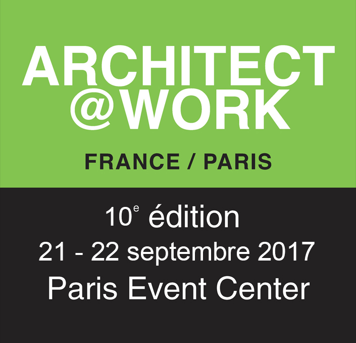 Architecte@work Paris Septembre 2017